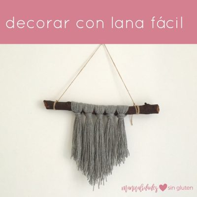 decorar con lana