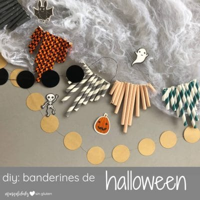 banderines diy halloween