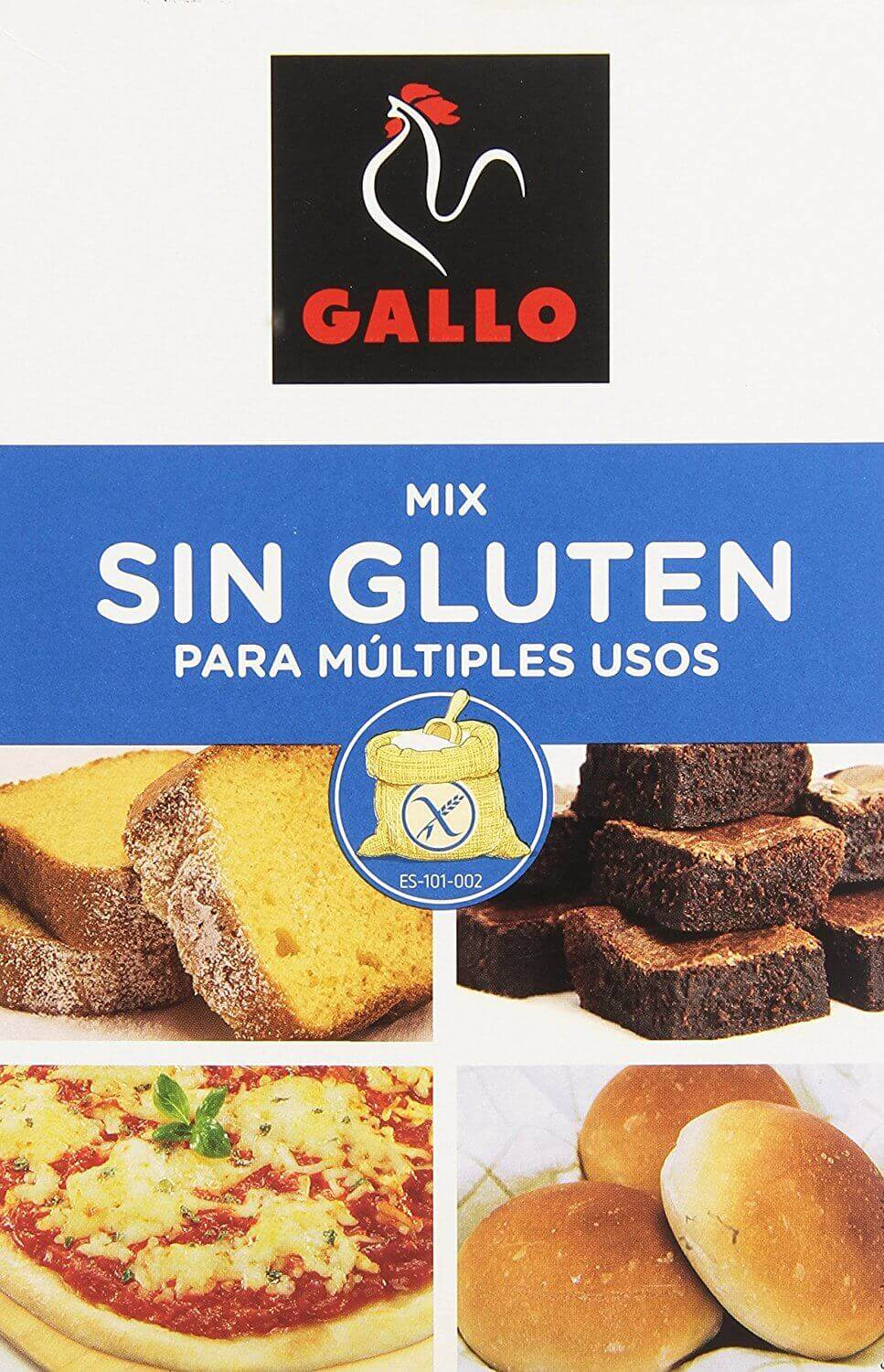 mix harina sin gluten Gallo