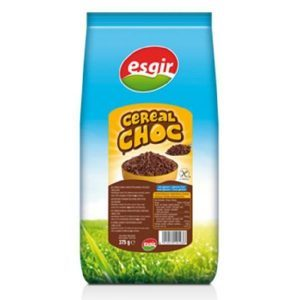 cereales de arroz inflado con chocolate