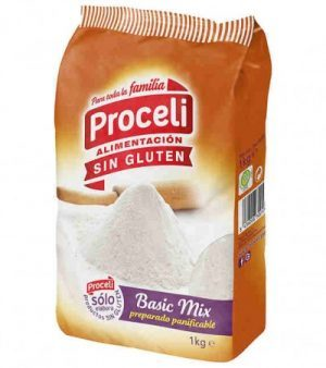 preparado panificable basic mix proceli