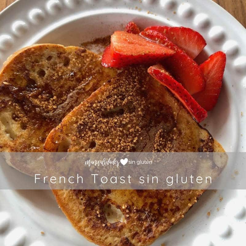 French Toast sin gluten