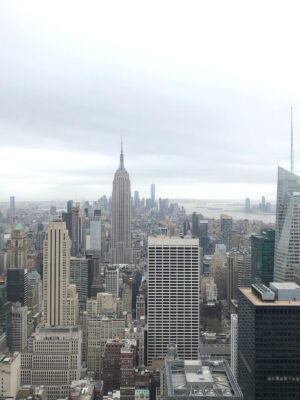 Vistas desde TOP OF THE ROCK