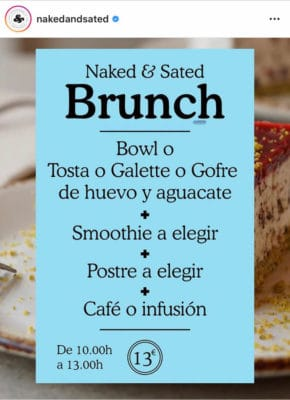 brunch normal naked and sated