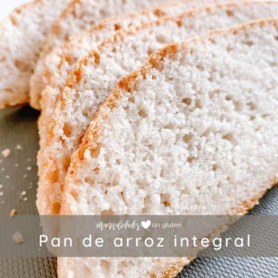 pan de arroz integral